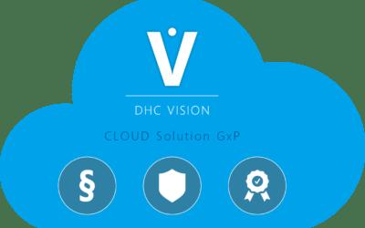 DHC VISION CLOUD Solution GxP