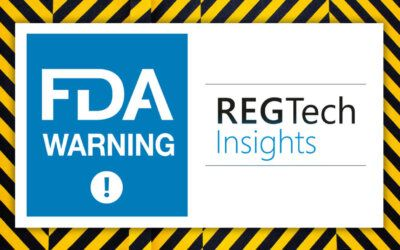 "REGTech Insights : ""Warning Letters"" zeigen Defizite bei Standard-Q-Prozessen"