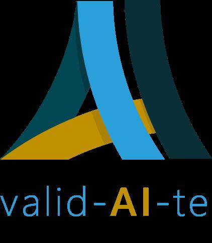 Logo Forschungsprojekt valid-AI-te